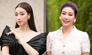 Hà Kiều Anh, Đỗ Mỹ Linh chấm thi hoa hậu