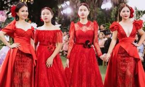 Cẩm Ly, Minh Tuyết diễn thời trang cùng con gái