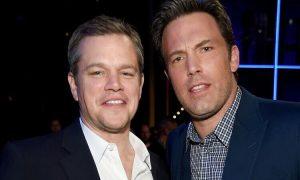 Matt Damon trêu Ben Affleck
