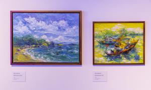 Triển lãm 'Biển sống' của 9 nghệ sĩ