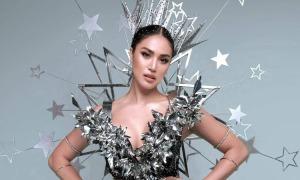 Thí sinh Miss Universe Philippines diện trang phục dân tộc