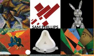 Tìm hiểu nghệ thuật hiện đại qua sách Sam Phillips