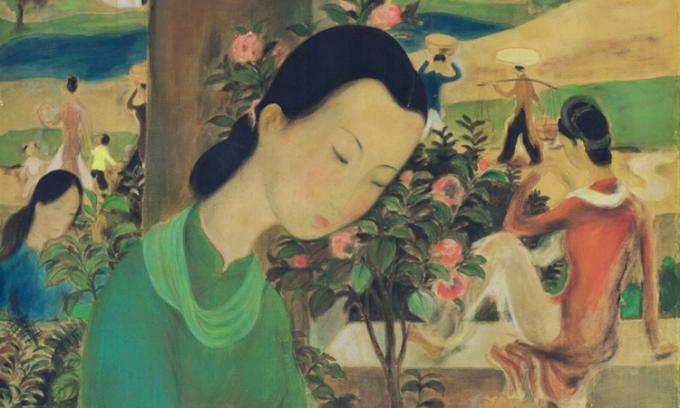 Những bức tranh triệu USD của mỹ thuật Việt