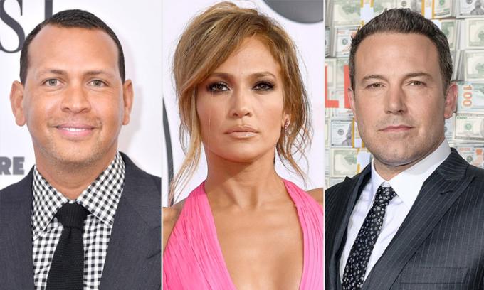 Tình cũ sốc khi Jennifer Lopez đi chơi cùng Ben Affleck