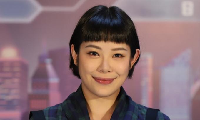 Nữ diễn viên Hong Kong làm bảo vệ mưu sinh