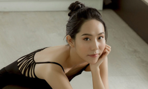 Nghệ sĩ múa Minh Anh luyện thi quốc tế
