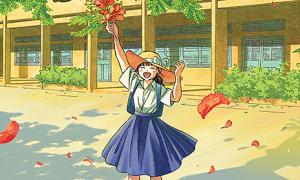 'Mùa hè bất tận' - truyện tranh về tuổi học trò