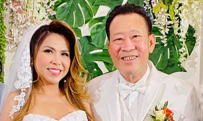 Lê Quang làm đám cưới bạc