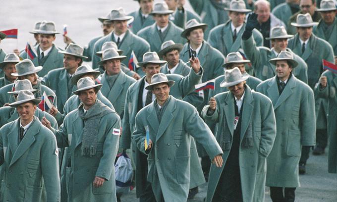 Những bộ đồng phục đẹp trong lịch sử Olympic