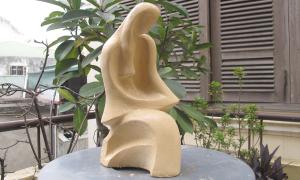 Họa sĩ tham gia hội trại điêu khắc trực tuyến
