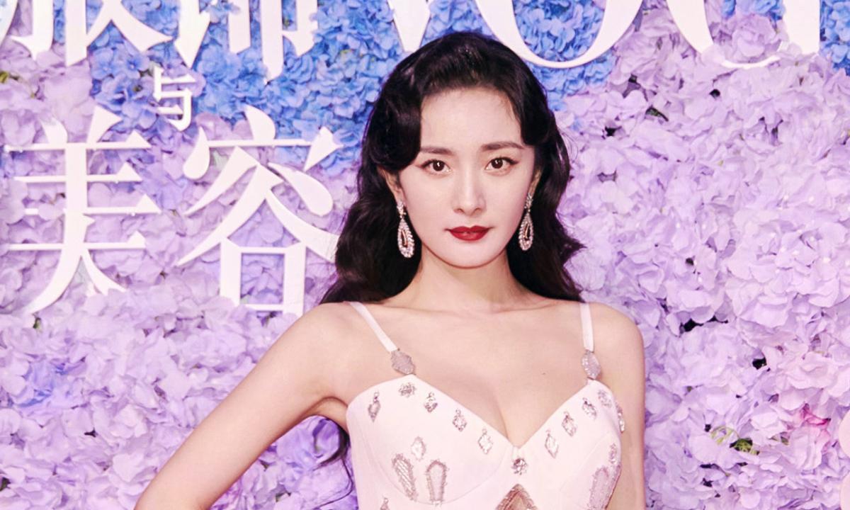 Dương Mịch dự sự kiện cùng dàn siêu mẫu