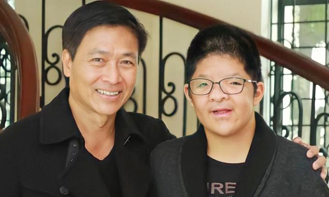 Quốc Tuấn: 'Tôi ước con khỏe mạnh, tự lập'