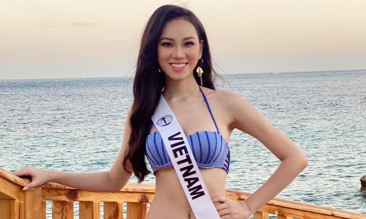 Ái Nhi diện bikini tại Miss Intercontinental